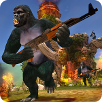 Apes Hunter Jungle Survival 1.1.3 Apk Mod Money