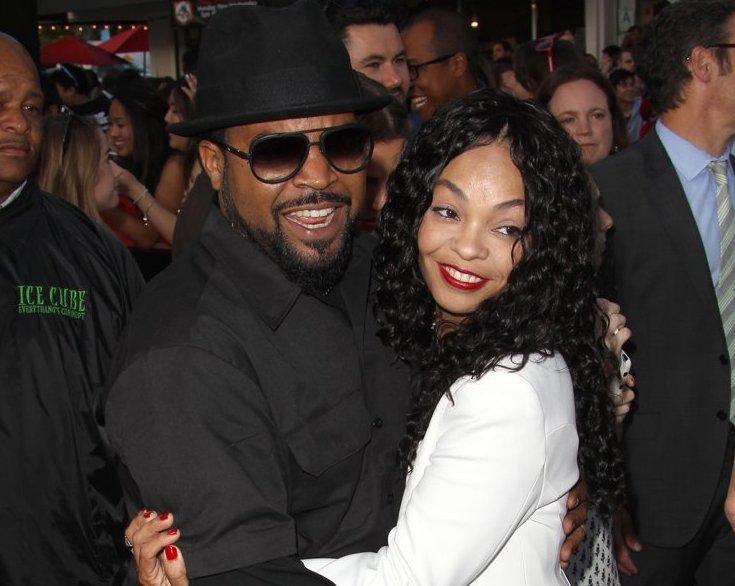 Ice Cube and Kim Jackson