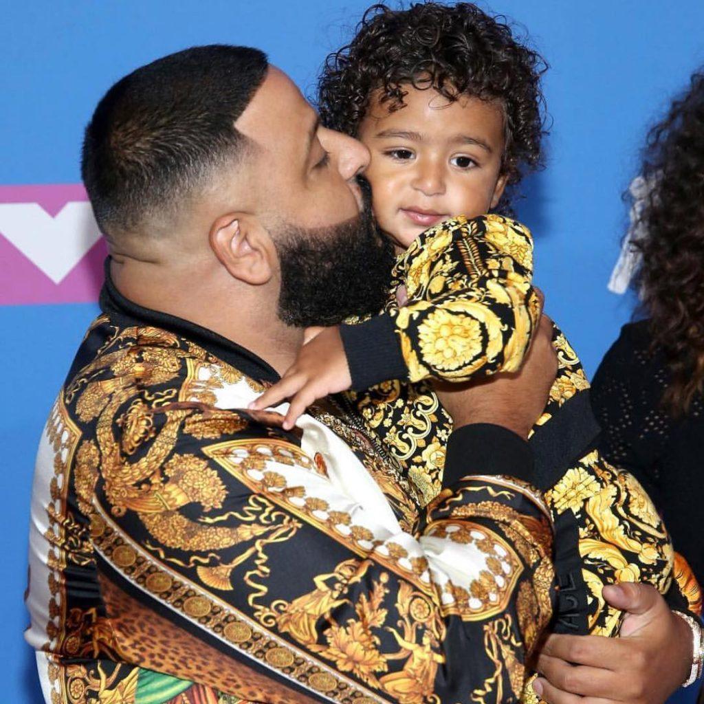 dj khaled and son