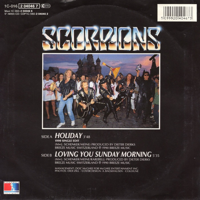 "Scorpions - ""Loving You Sunday Morning"""